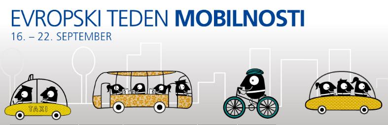 Vabljeni na prireditve ob evropskem tednu mobilnosti